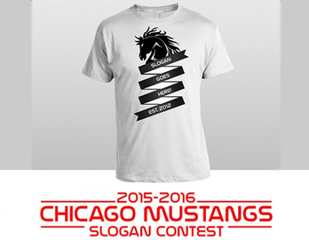 """Chicago Mustangs holding """"Stangs Slogan"""" giveaway"""