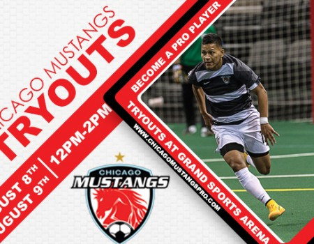 Chicago Mustangs to host free agent tryouts
