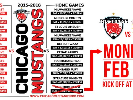 Mustangs Announce Schedule Change