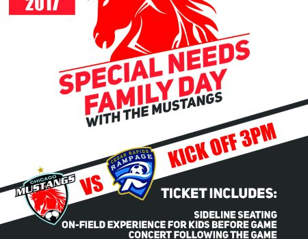 Special Needs Family Day with Mustangs